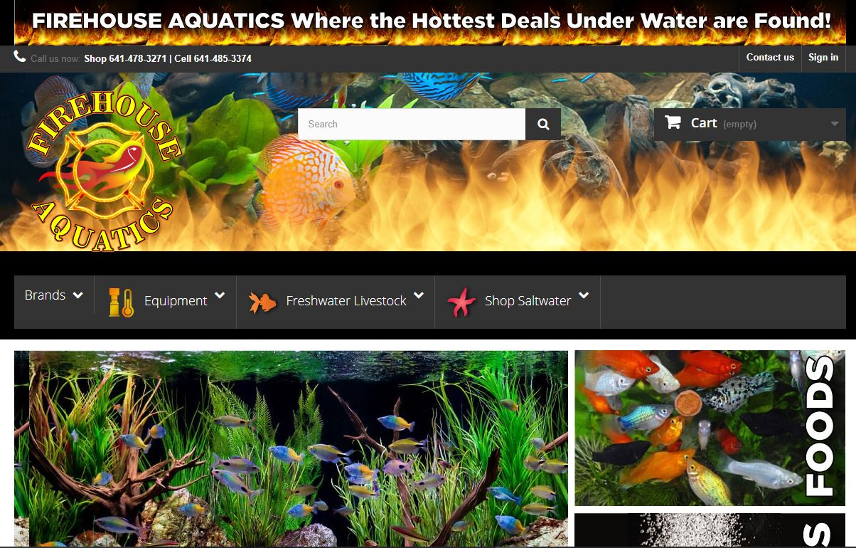 firehouseaquatics.com