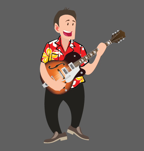 Bob Fenner - Live Rock Band Guitarist