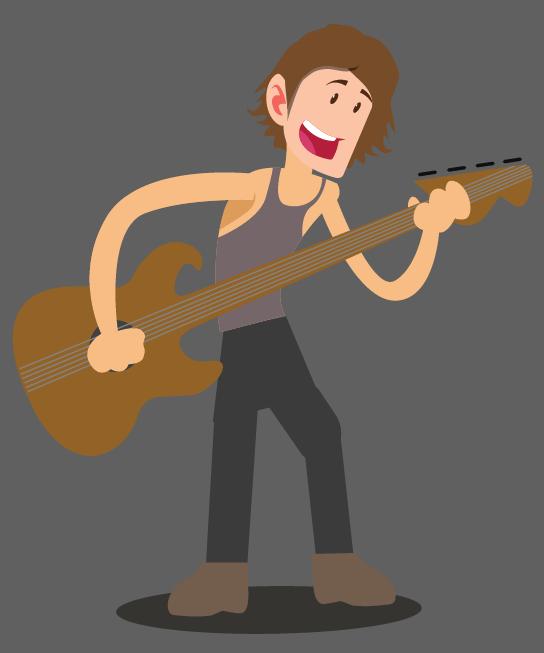 Justin Credible Grabel - Live Rock Band Guitarist