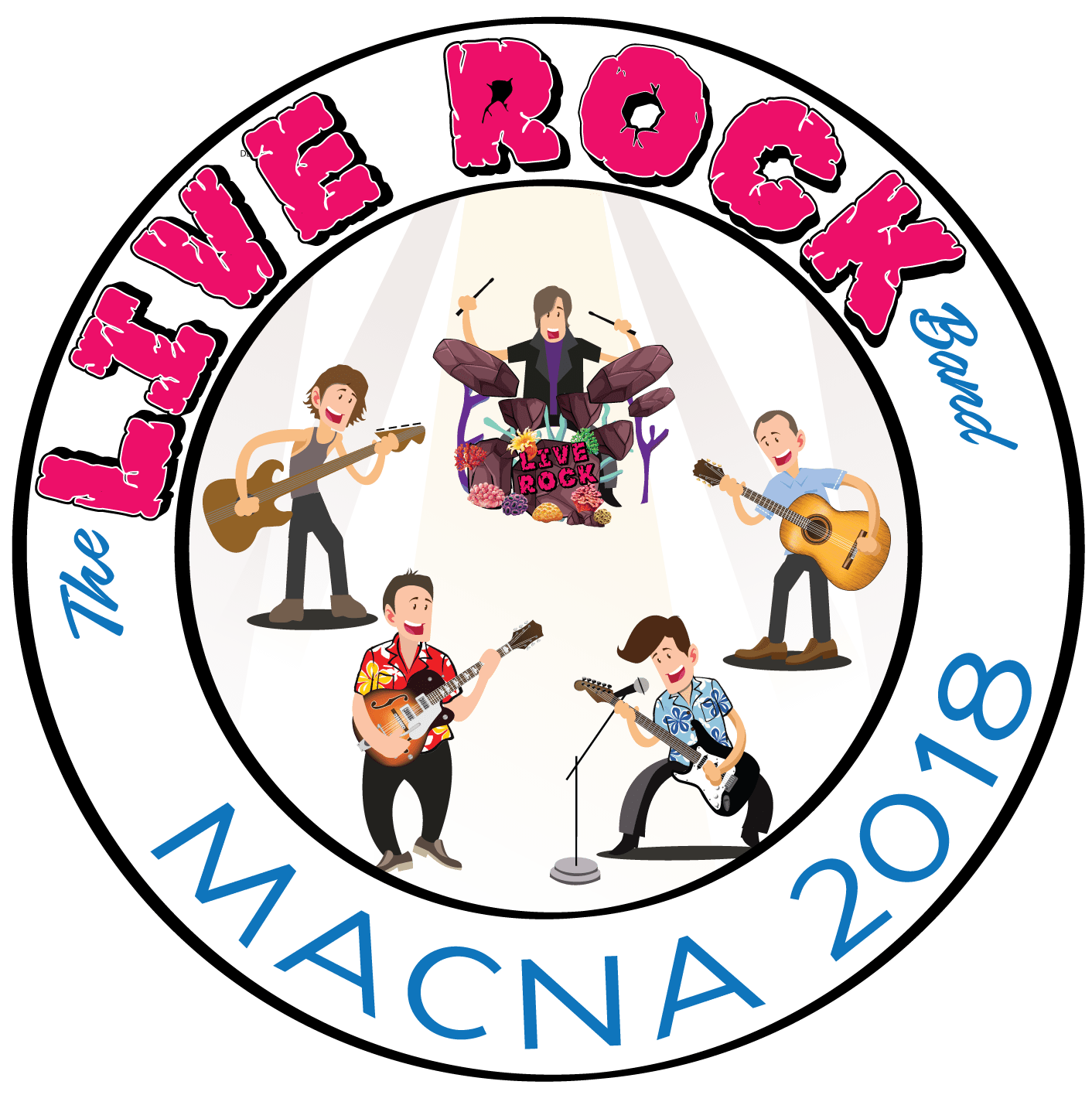 Live Rock Band MACNA 2018 Logo